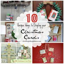 Unique Christmas Cards 10 Unique Ways To Display Your Christmas Cards
