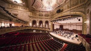 Celebrating Orchestra Hall Detroits Concert Gem As It