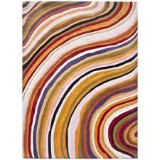 ellis handwoven modern wool rug 230x160cm
