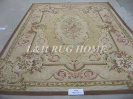 free woolen rugs french carpet hand woven living room aubusson savonnerie area rug vintage french