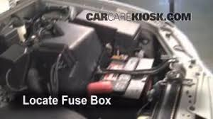 interior fuse box location 2001 2007 toyota highlander 2002 blown fuse check 2001 2007 toyota highlander