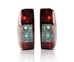 genuine l r dark red rear tail light lamp fit isuzu d max holden image is loading genuine l r dark red rear tail light lamp