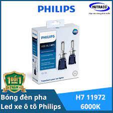 LED H7 11972- Bóng đèn pha Led xe ô tô/ xe hơi Philips Ultinon Essential LED
