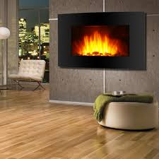 adjule wall mount led electric fireplace space heater features propane free standing heating stoves without infrared