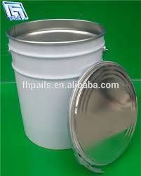 5 Gallon Metal Food Storage Containers