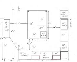 Kitchen Cabinets Depth Looking For Comments On A Kitchen Plan