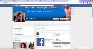 example facebook profile. Perfect Facebook And Example Facebook Profile R