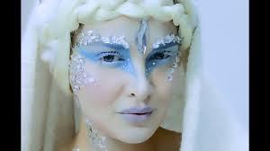 snow queen fantasy makeup tutorial