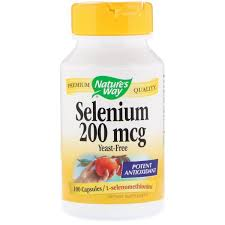 Селен (Selenium), Nature's Way, 200 мкг, 100 капсул ... - ROZETKA