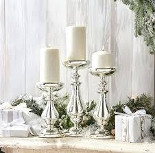 silver mercury candle holders uk