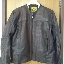 rsd barfly perforated leather jacket size m car accessories on carou
