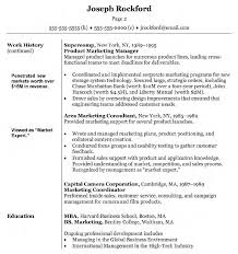 Gallery Of Resume Marketing Executive India Marketing Resume