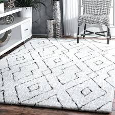 lifetime fuzzy rugs target white area rug round thelittlelittle