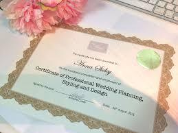 Great Wedding Planner Certification La Mode College Fashion Design