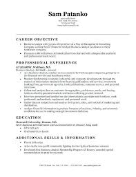 Resume For Healthcare Healthcare Analyst Resume Foodcity Me
