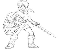 The Legend Of Zelda Coloring Pages Legend Of Coloring Pages Online
