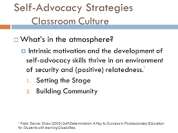 Teaching Self-Advocacy Style: - ppt download