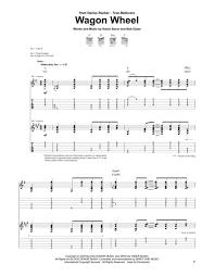 wagon wheel sheet music download wagon wheel sheet music by bob dylan sheet music plus