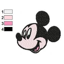 Embroidery Mickey Mouse Design Face Of Mickey Mouse Embroidery Design