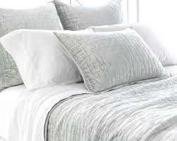 Bedroom: Pine Cone Hill Ramala Duvet Cover And Pillow Cover For ... & Soft Textured Glacier Blue Washable Velvet Coverlet by pine cone hill for  bedroom decoration ideas Adamdwight.com