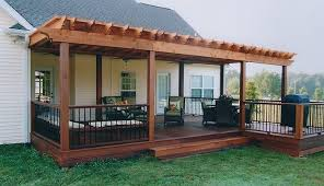 Backyard Decking Designs Awesome Let Deck Designs Of Brentwood Create The Backyard You Always Wanted