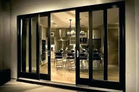 sliding glass wall cost of patio doors home depot 3 panel door decorating mafa 3 panel sliding patio door
