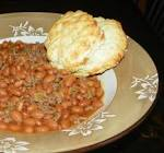 beans and burger  hillbilly chili