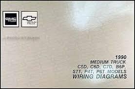 1990 gmc chevy 5000 7000 medium duty wiring diagram manual original