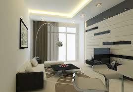modern living room decor striped