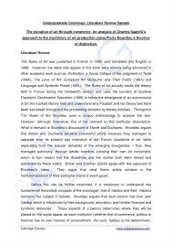 literature review example apa sample apa style literature review coursework academic service