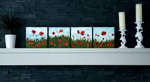 awesome acrylic painting tutorials poppy painting