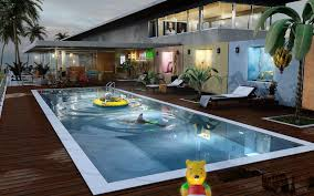 indoor outdoor pool house. Attractive Brick House Design Ideas With Swimming Pool And Excerpt Mesmerizing Indoor Large Rectangle Most Visited Gallery Featured In Inspiring For Outdoor M