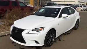 lexus 2014 white. Fine White 2014 Lexus IS 250 AWD Executive F Sport Package Review  Ultra White On  Rioja Red YouTube Intended