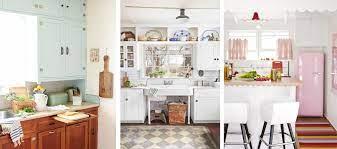 20 Vintage Kitchen Decorating Ideas Design Inspiration For Retro Kitchens
