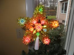Gold Tree Toppers  FoterChristmas Tree Lighted Star