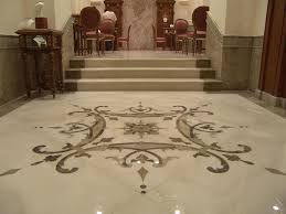 italian marble tile flooring with three staircase