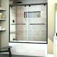 shower curtain or glass door wonderful pictures of curtains over doors bathtub amusing bathtubs the home
