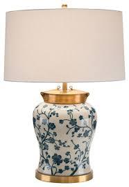 john richard lighting. john richard blue dogwood table lamp jrl9001 transitionaltablelamps lighting