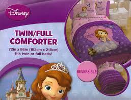 disney sofia bedding comforter set