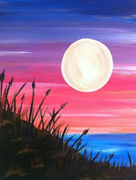 Easy acrylic painting ideas for beginners are quite easy to try and follow.  Art has