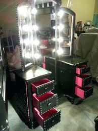 black vanity table set black makeup vanity table set w bench picture concept