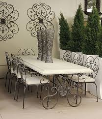 wrought iron furniture designs. The Process Is To Hand Forge And Weld Frames Before An Epoxy We Offer A Large Selection Of Vintage Wrought Iron Outdoor Patio Furniture From Various Time Designs