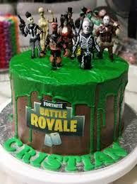 Fortnite Chocolate Drip Cake Food Drinks Baked Goods On Carousell