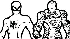 Spiderman Color Sheet Pictures To Color Plus Coloring Pages Spider