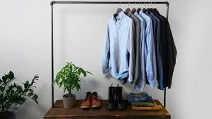 Wardrobe Coat Rack Fascinating How To Easily Make A DIY IndustrialStyle Clothing Rack Digital Trends