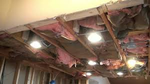 how to install kitchen lighting. Pleasant Design Ideas How To Install Can Lights In An Existing Ceiling Kitchen Lighting Concealed Led C