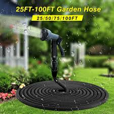 25 ft garden hose. High Quality 25FT-100FT Garden Hose Expandable Magic Flexible Water Plastic Hoses Pipe With Spray Gun To Watering China 25 Ft B