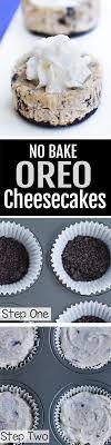 mini oreo cheesecake. Modren Oreo Mini Oreo Cheesecakes NO Baking Required Inside Cheesecake B