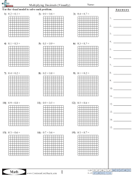 Fraction Multiplication Models Worksheets - Area models ...Area models multiplying fractions in this lesson students will