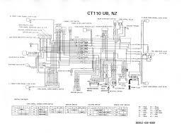 ct110 wiring diagram wiring diagram wiring schematic honda ct110 owner 39 s manual ナ゠ヤン jp